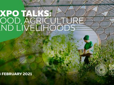 Expo Dubai: Italy's agrifood takes centre stage at the global digital event 'Food, Agriculture and Livelihoods'