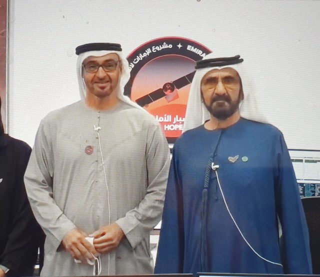 UAE Hope Probe successfully enters Mars'Orbit